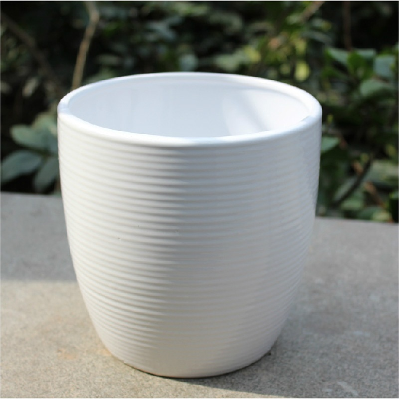 简约陶瓷花盆 - 上海精致花卉